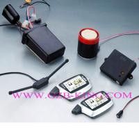 China FM-FM 2-way LCD Pager Motorcycle Alarm on sale