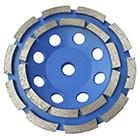 China Segmented diamond cup wheel for stone,concrete,marble and granite,cutting fast,good price,high quality wholesale
