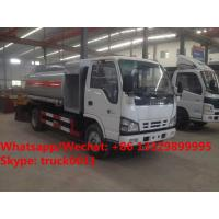 China 2018s YEAR-END PROMOTION! ISUZU mini 4*2 LHD 4-5m3 fuel bowser vehicle for sale, Wholesale price fuel tank truck wholesale