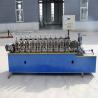 China 10 Steps Light Gauge Steel Framing Machine , C U Stud And Track Rolling Machine wholesale