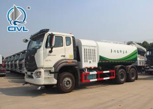 China Front Spray Rear Sprinkling Truck Mounted Water Tank 6x4 Sinotruk Howo 20m3 336hp wholesale