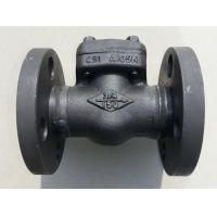 China 1/2 inch - 2 inch Forged Steel Check Valve , Class 150 / 800 / 900 / 1500 wholesale