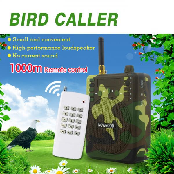 Quality Newgood Mp3 Bird caller speaker with 1000 meters remote control support for sale