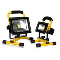 China Outdoor 20w rechargeable portable led work light 1700lm / w Aluminum alloy body wholesale