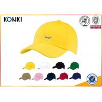 China 100 Cotton Custom Caps Hats , Personalized Custom Fitted Baseball Caps For Man on sale