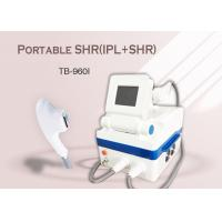 China Portable Home Use IPL SHR Hair Removal Machine , Age Spots Removal Skin Rejuvenation Machine wholesale