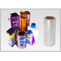 China High Shrinkage PET Shrink Film For Packing Wrapping Cookies Customized Size wholesale