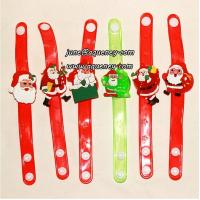 China Buy 2014 Christmas gift for friends LED silicone wristband with factory price wholesale
