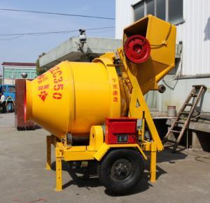China JZC350-B Diesel Engine Powered Concrete Mixer wholesale