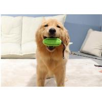 China Treat ball Tough Dog Toys Dog Chew Toys Interactive with Bell Toothbrush Teeth Cleaning Durable Tough Dog Toys wholesale
