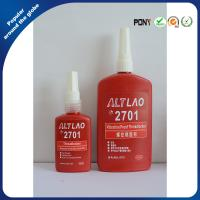 China 2701 High strength Oil Resisitant Threadlocker For Chromated Surfaces wholesale