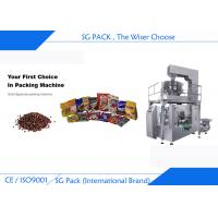 China Granular Products Rotary Packing Machine Multi Head Weigher Touch Screen Operating wholesale