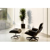 White / Black Swivel Recliner Chairs Oil Painting Commercial Furniture
