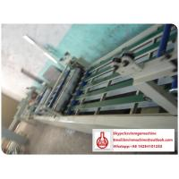 China Automatic Vacuum Forming Machine with Glue Spreading Overlaying Drying Process wholesale