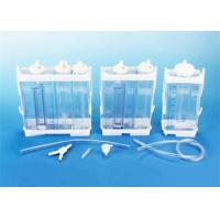 China Portable Vacuum Drainage System Wound Care Double chamber 2500ml Fr16 Fr18 wholesale