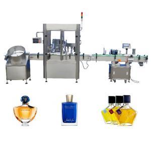 Buy cheap Pump Head Vial Filling Machine / 20ml - 200ml Perfume Bottling Machine from wholesalers