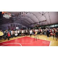 China Dome Large Hall Tents used for Basketball Court with Logo Printed wholesale