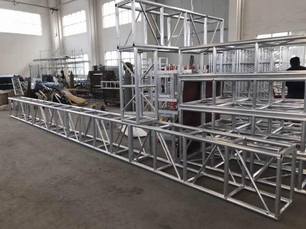 Quality Sistemas rectos del braguero de la iluminación de la etapa longitud 350 * 450m m de 0.5m a 4 M for sale