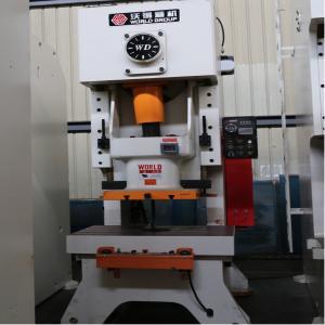 China Mechanical Steel Hole Automatic Power Press Machine25 - 400 Ton Capacity on sale