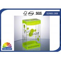 China Plastic Clamshell Packaging Transparent PVC Boxes with UV Coating Eco-friendly and Recycled wholesale