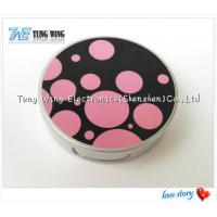 China Promotional Pocket Makeup Mirror Cosmetic Compact Mirror With Music wholesale