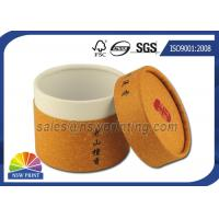 China Customized Cylinder Paper Packaging Tube , Food Grade Round Paper Tube Containers wholesale