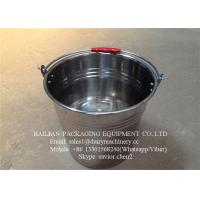 China Food - Grade Stainless Steel Water Bucket , Water Barrel For Milk wholesale