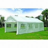 China PE Fabric Carport, Measures 4 x 8m and 4 x 6m wholesale