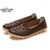 China Custom Unique Cowhide Summer Sandals Shoes Multi Color Orthotic Friendly on sale