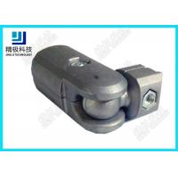 China AL-5 Silver Aluminium Tube Joiners Joints Connector Claw Head Shape Die Casting Tech wholesale