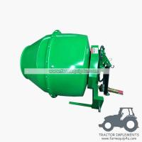 Tractor Mounted 3point Cement Mixer with PTO Shaft driven