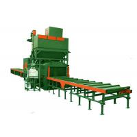 Buy cheap Steel Portable Shot Blasting Equipment With Roller Conveyor Systems from wholesalers