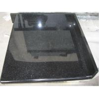 China Black galaxy Polished granite bathroom tiles for indoor outdoor project on sale