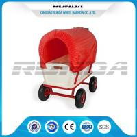 China Long Durability Heavy Duty Carts Wagons 16.5kg Steady Frame Air Rubber Wheel wholesale