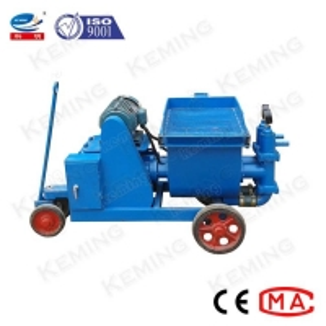 China Single Piston Type 50L/Min Cement Mortar Grout Pump wholesale