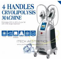 China 800 W Vacuum / Fat Freezing Cryotherapy Slimming Machine Two Handles on sale