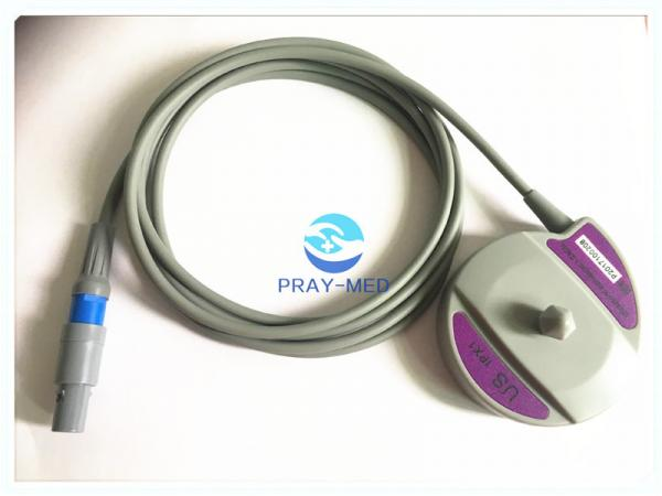 Quality Edan F3 Fetal Monitor Transducer US Probe 4 Pin Connector 40 Degree 2m Length for sale