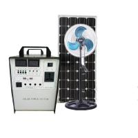 China 300W Solar Generator home Solar Power System AC 220V/ DC 12V output USB charging outdoor emergency power supply wholesale