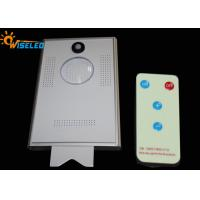 China 10W Remote Control Led Street Light With Solar Panel, Solar Light Street Lamp With Sensor wholesale