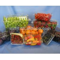 China PVC  plastic rolls for fruit tray packing on sale