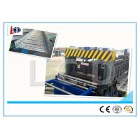 China Auto Adjustable Cable Tray Making Machine , Cold Roll Forming Machine With Double Uncoiler on sale