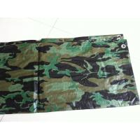 waterproof flame retardant camo tarps  for hunting ground and military tent