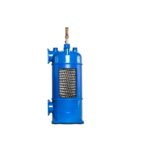 China Water cooler Air Conditioner Heat Exchanger Steel shell tube heat exchanger wholesale