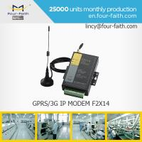 China F2414 3G sim card MODEM with serial port support RS232/485 for meter monitoring on sale