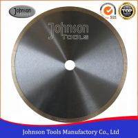"""China 12"""" tiles cutting blade continuous rim blade, 2.2mm thickness, For Wet Cutting Hs Code 82023910 wholesale"""