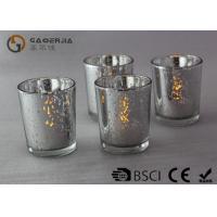 Electroplate Finish Decorated Wine Bottles With Lights Inside WB-009