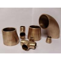 China Copper Nickel Butt Weld Pipe Fittings Seamless Welded Cu-Ni 90/10 ASME B16.9 on sale