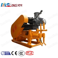 China High Pressure Mechanical Grout Pump Specification Cement Grouting Pump for Cement Slurry Conveying wholesale