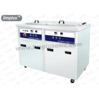 China 130liter 1800W Dual Slot Ultrasonic Cleaner Machine with Dring Tank SUS316L wholesale