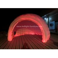 Buy cheap AC 110V-240V RGB Round Inflatable LED Tent Waterproof With High Power Blower from wholesalers